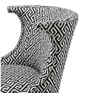 Elson Dudley Black Chair