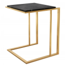 Cocktail Gold Side Table