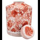 Artemisia Porcelain Red Vase
