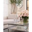 HARVEY RECTANGULAR SILVER COFFEE TABLE