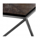 Pentagon Charcoal Oak Veneer Coffee Table