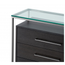 Durand Black & Nickel Cabinet