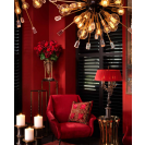 Tivoli Large Black Chandelier