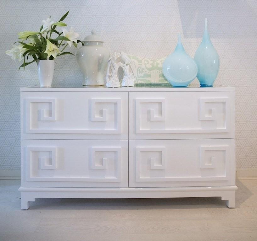 Werstler White Lacquer Dresser Shop Now