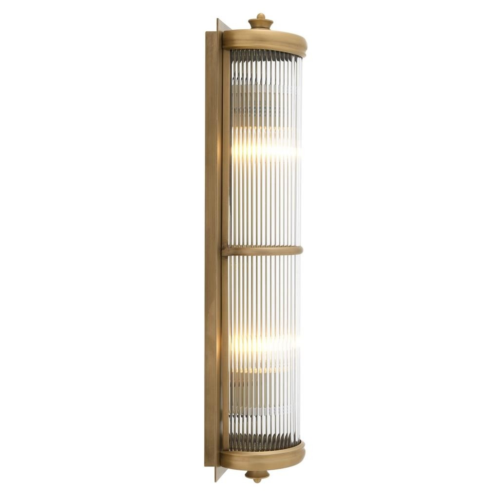 Glorious Extra Large Brass Wall Lamp Shop Now