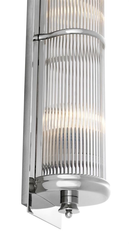 Glorious Extra Large Nickel Wall Lamp Shop Now