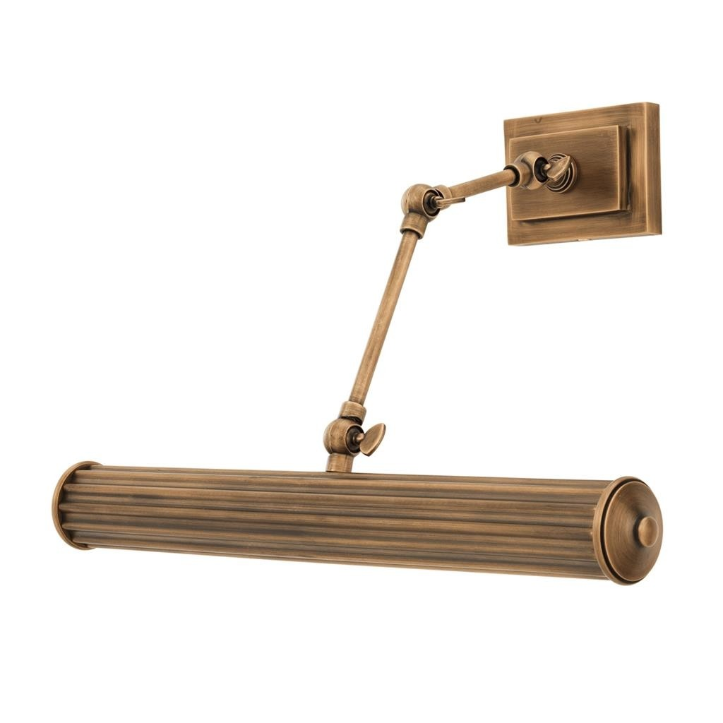 Luca Large Brass Wall Lamp Shop Now