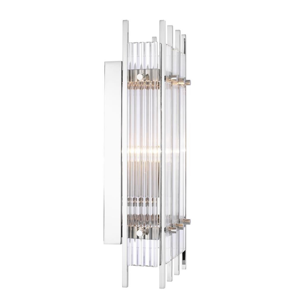 Sparks Small Nickel Wall Lamp Shop Now Regency Distribution