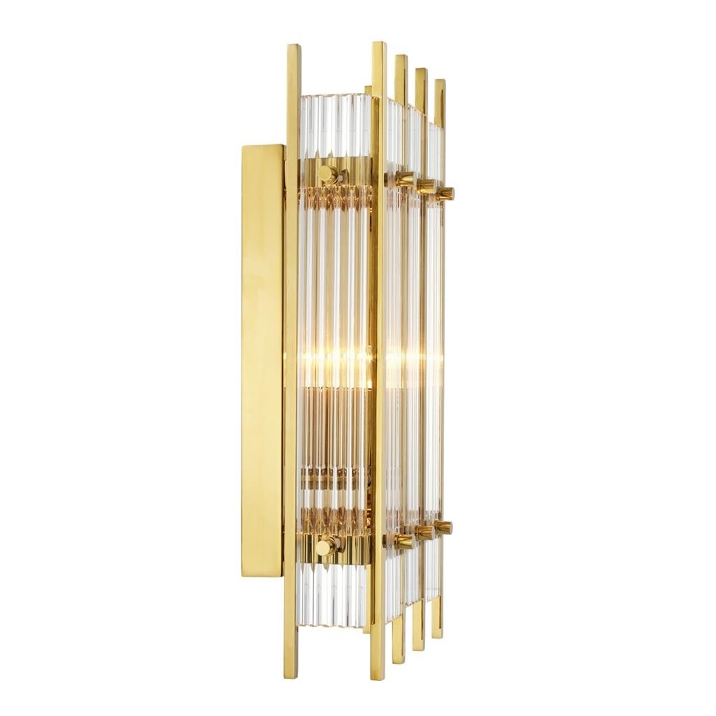 Sparks Small Gold Wall Lamp Shop Now Regency Distribution