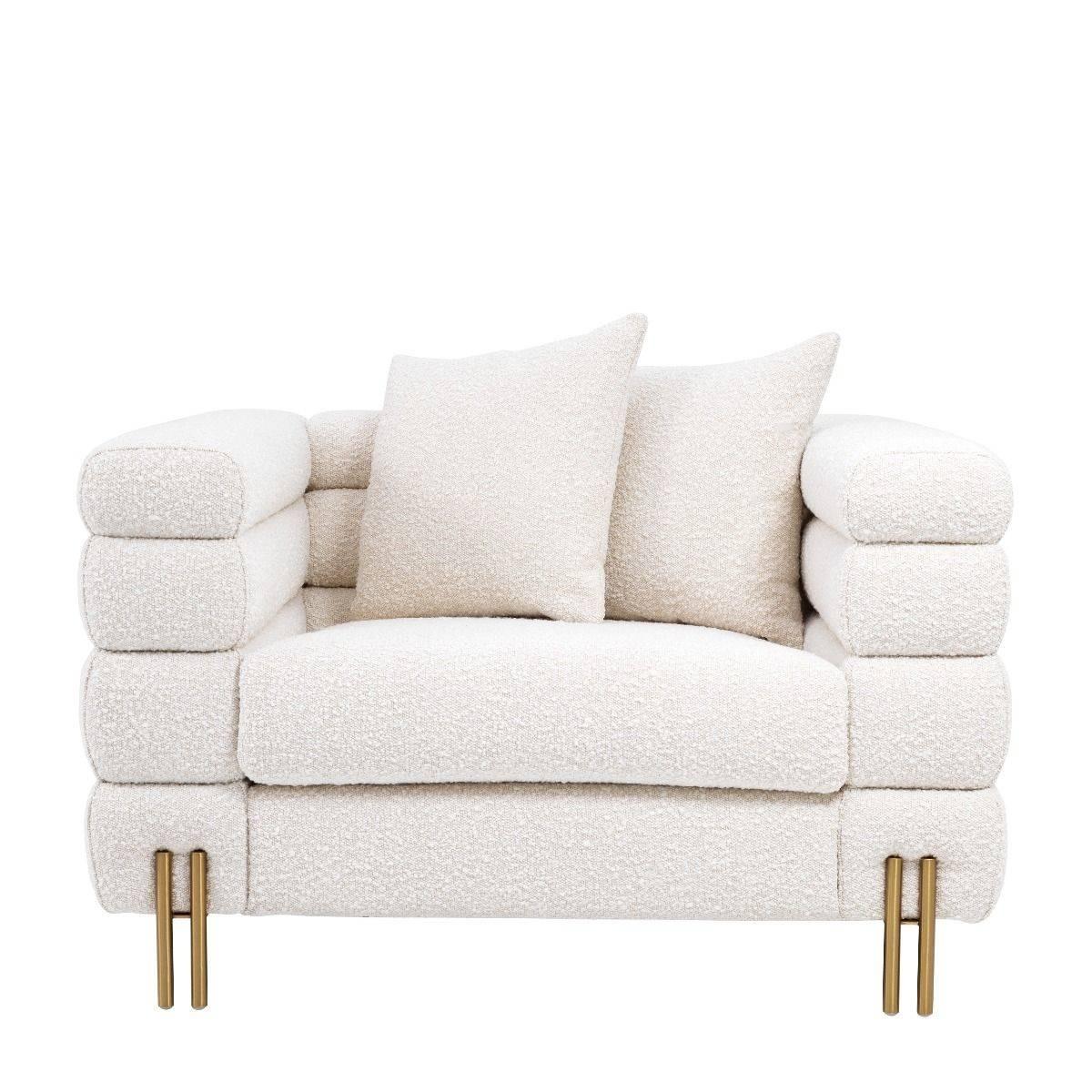 York Boucle Cream Armchair | SHOP NOW