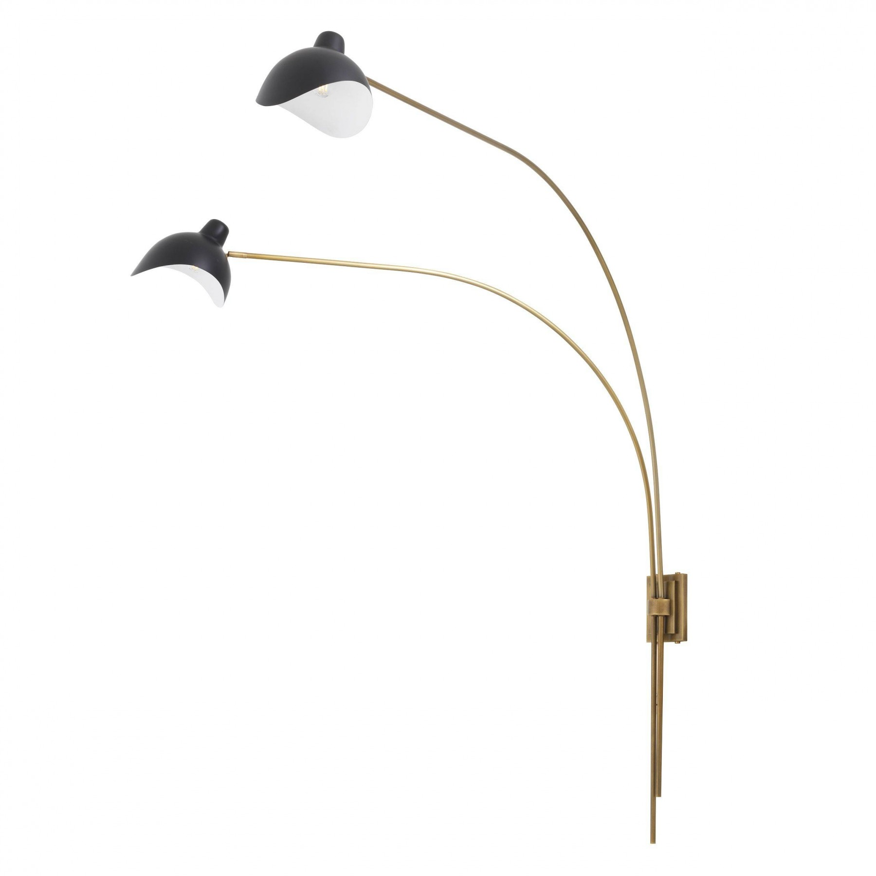 Mitch Antique Brass Wall Lamp | SHOP NOW