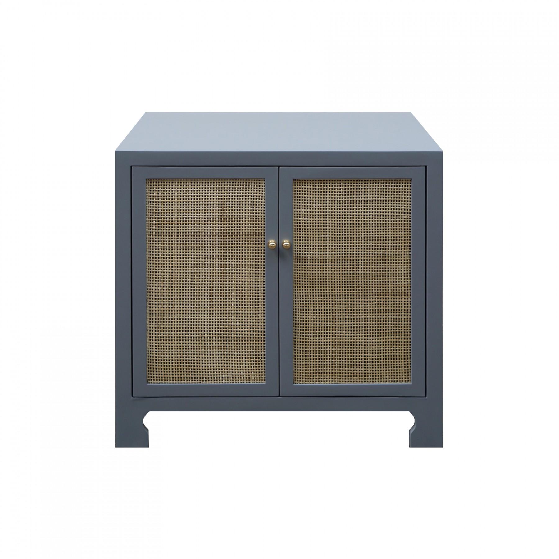 Alden Gray Cane Cabinet Shop Now