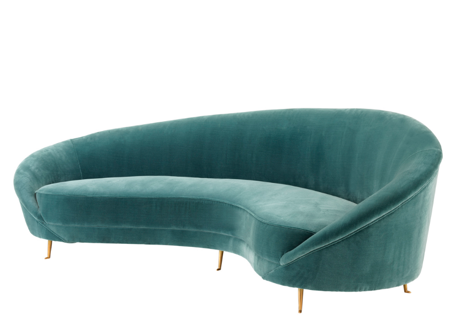 Provocateur Cameron Deep Turquoise Sofa Shop Now