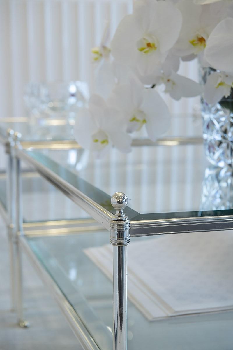 Ex Display Sofa Warehouse >> Aubrey Silver Coffee Table | SHOP NOW
