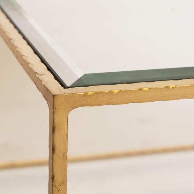 Quadro Gold Leaf Coffee Table
