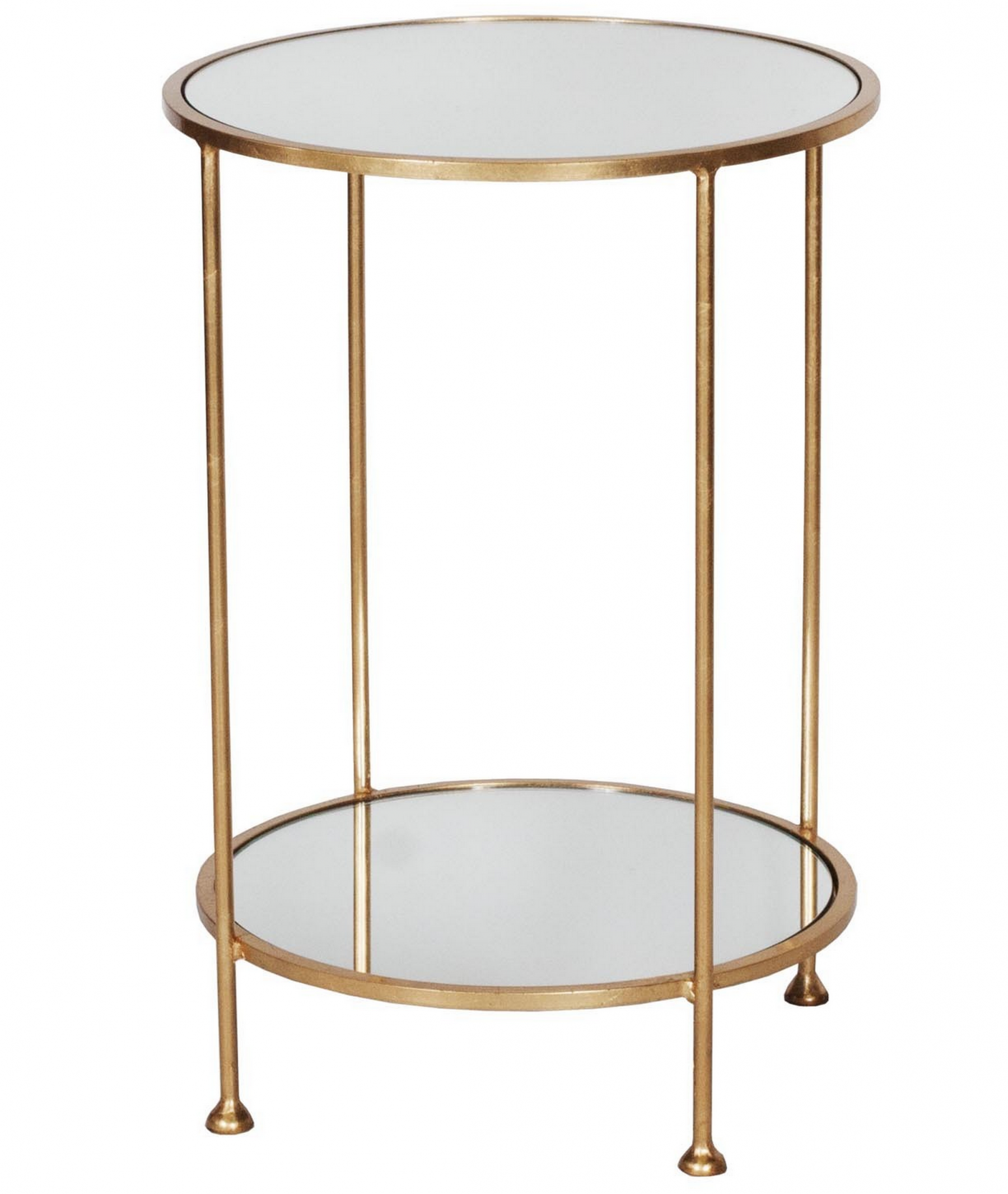 Chico Gold Leaf Side Table Shop Now