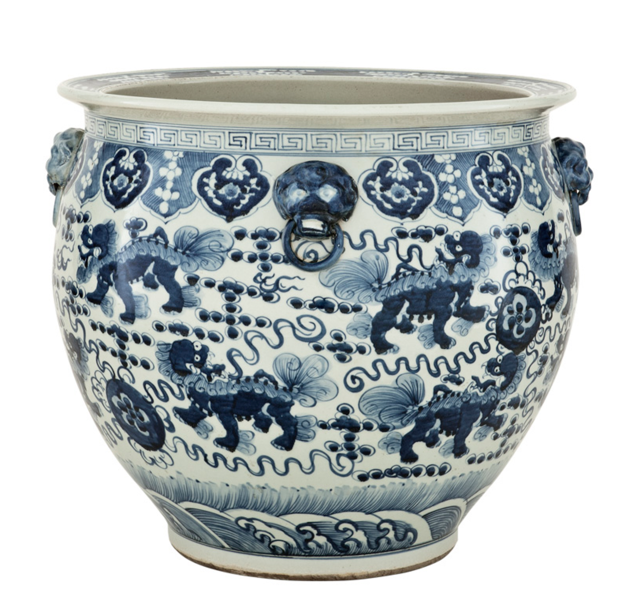 Chinese Fishbowl Vase Shop Now