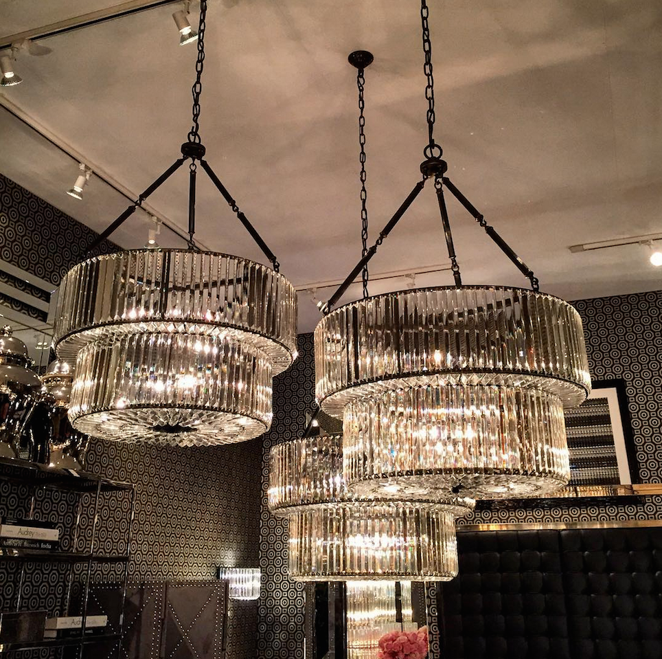 Infinity Gunmetal Double Chandelier Shop Now