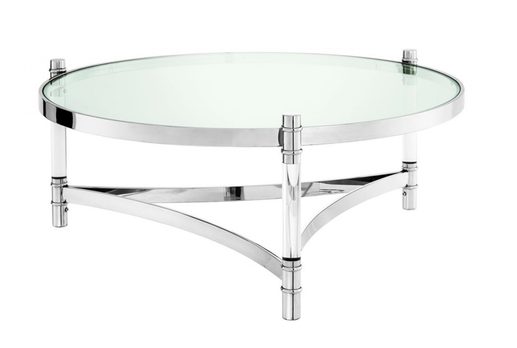 Trento Stainless Steel Coffee Table Shop Now