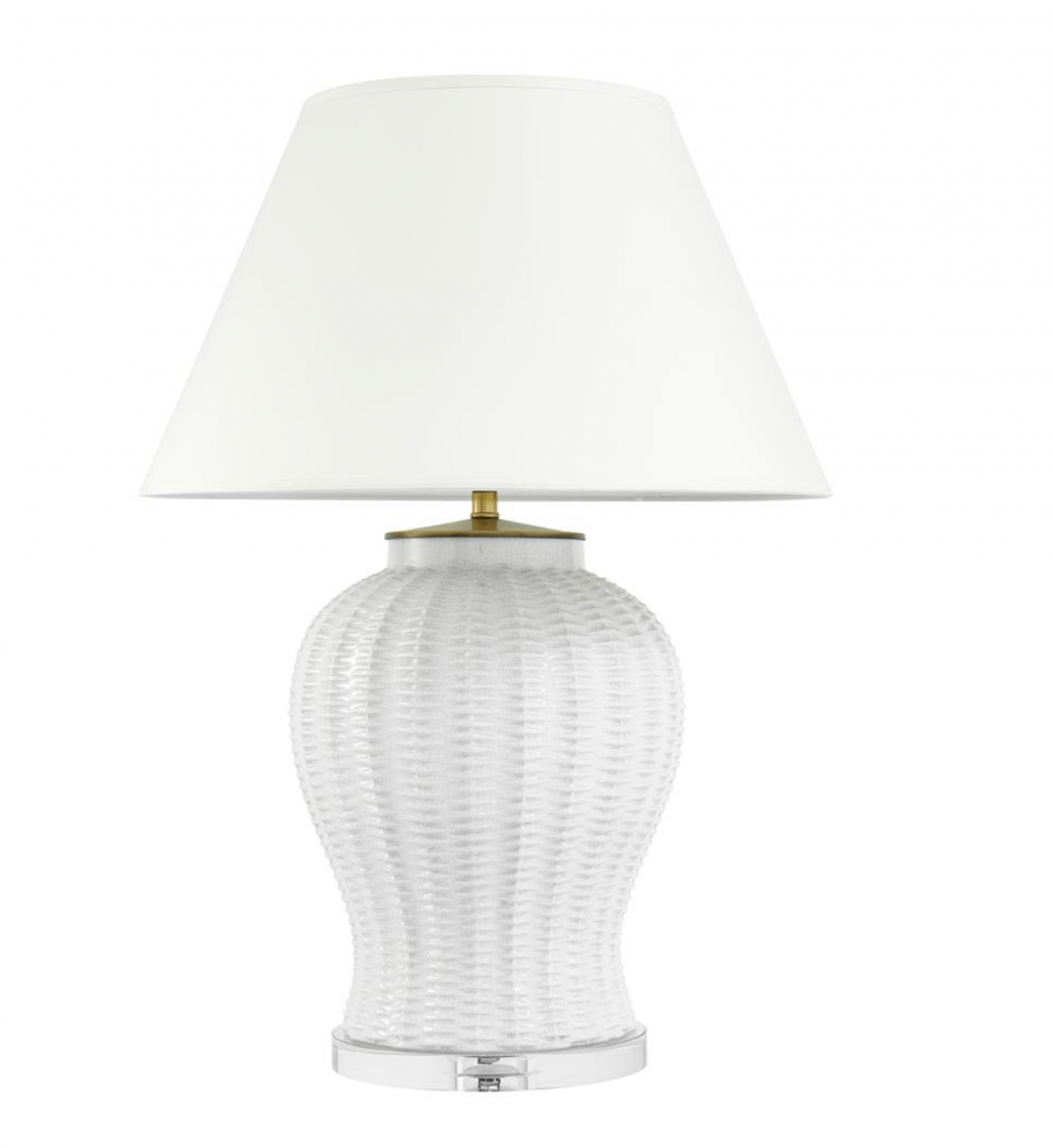 Fort Meyers White Ceramic Table Lamp Shop Now
