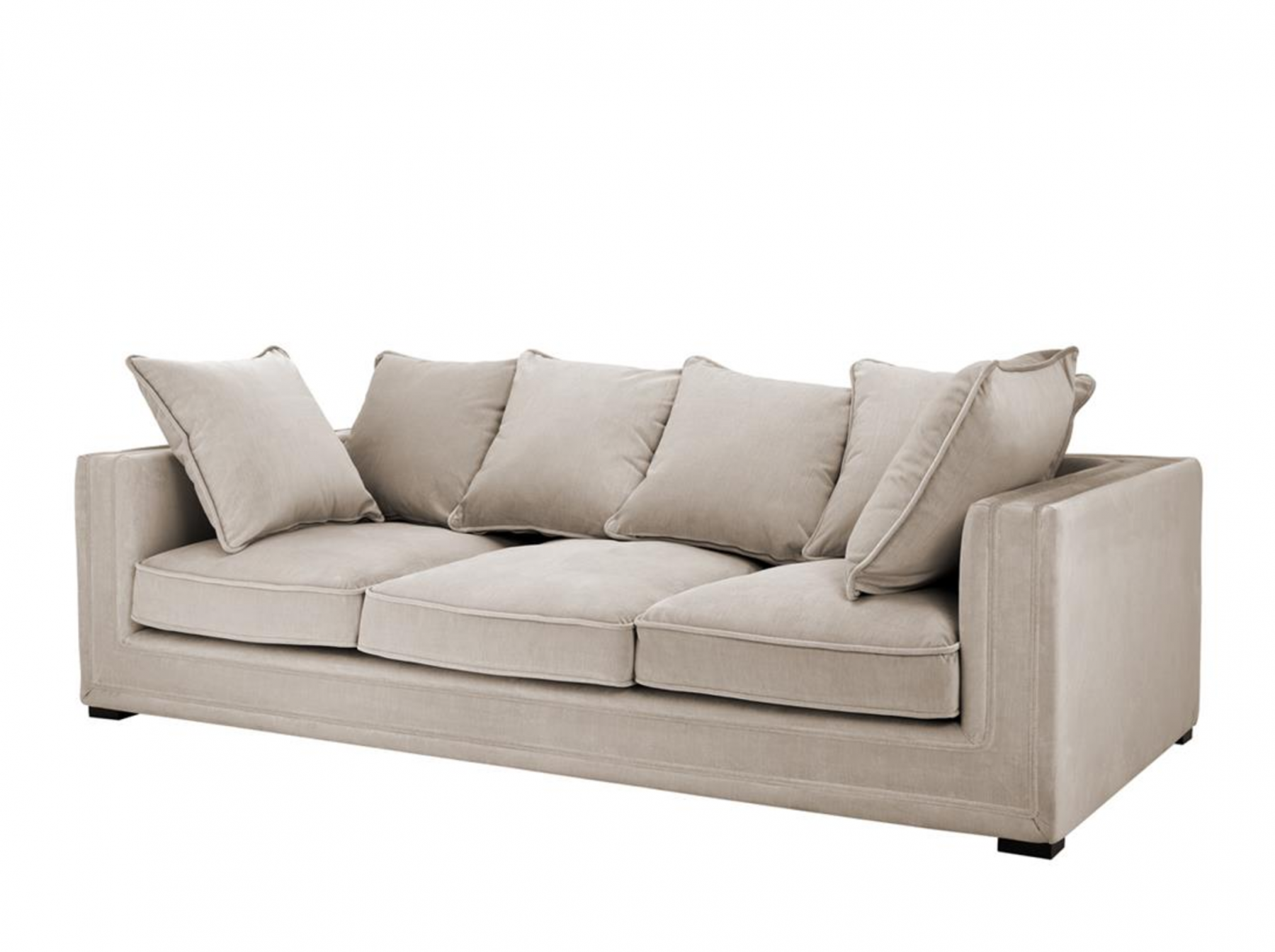 Menorca Stone Grey Sofa Shop Now