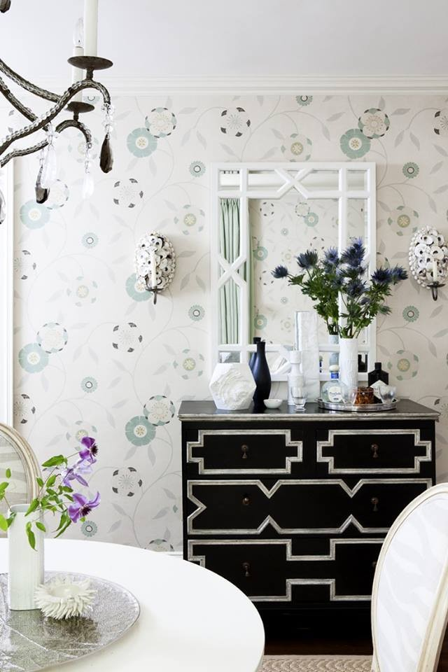 Vero White Lacquer Trellis Mirror Shop Now