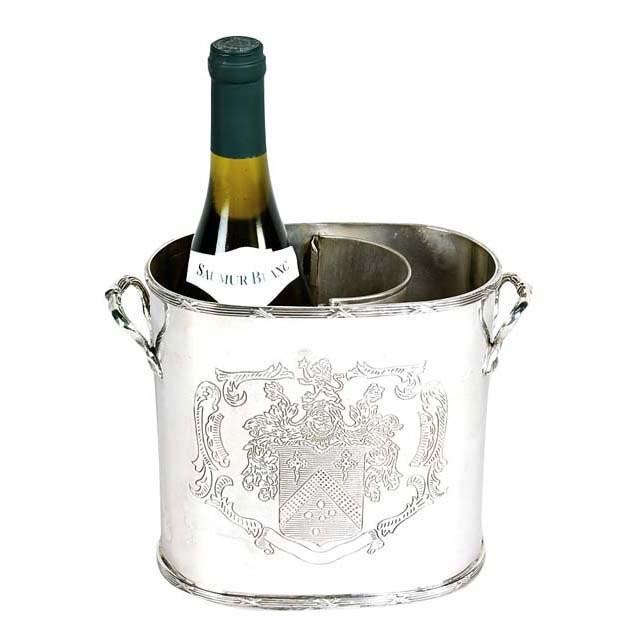Maggia Nickel Single Wine Cooler