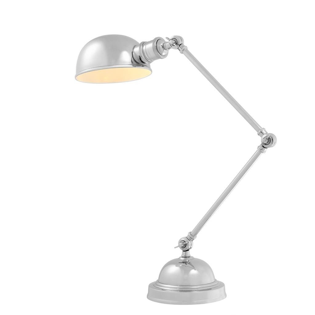 Soho Nickel Table Lamp