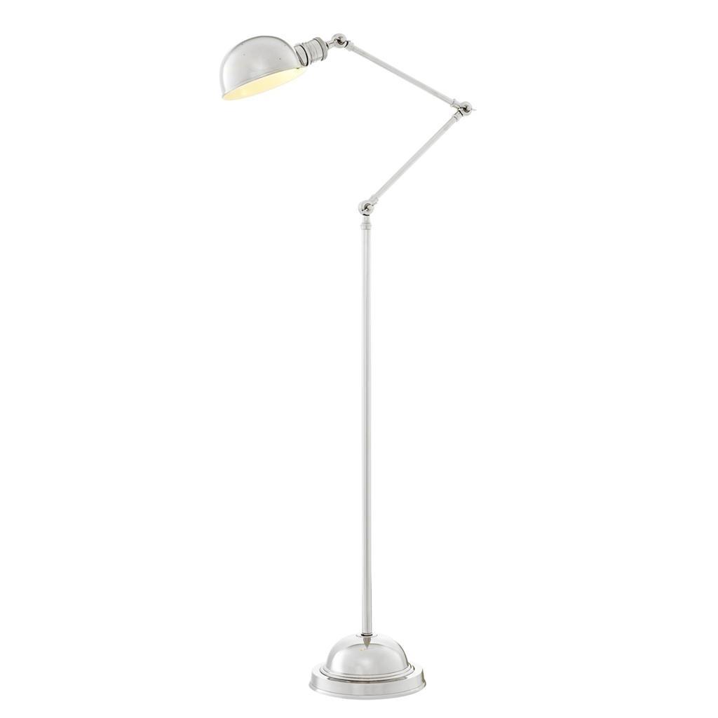 Soho Nickel Floor Lamp