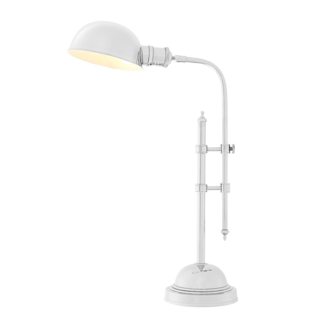 reenwish Nickel Table Lamp