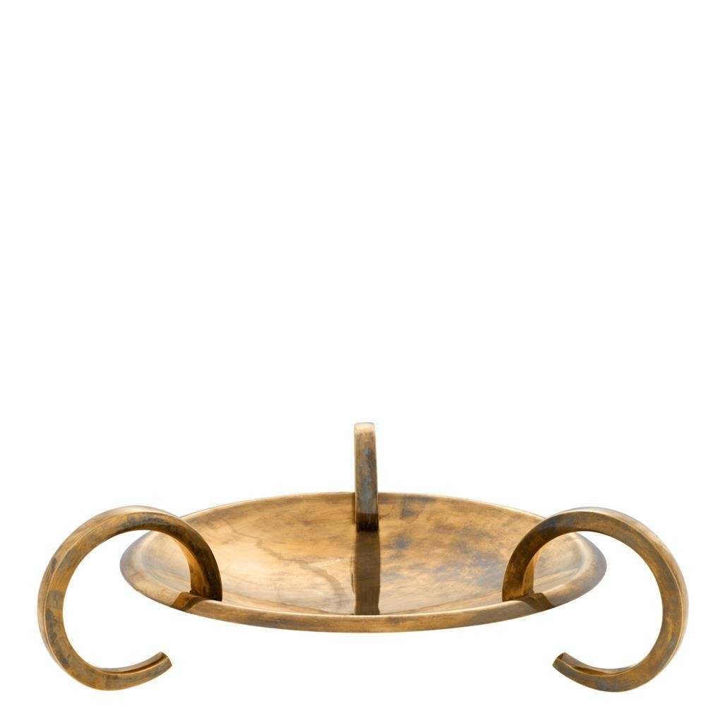 Belvair Brass Platter