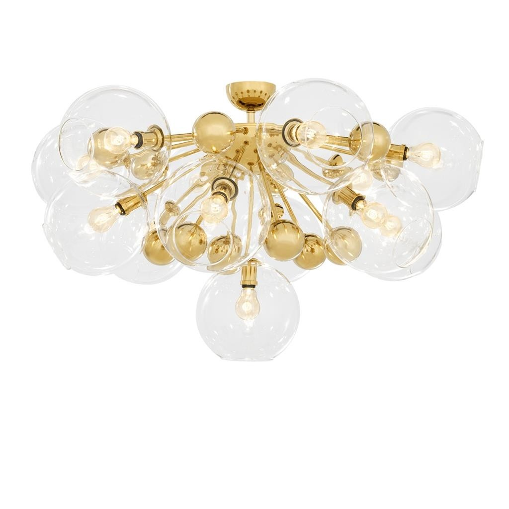 Soleil Gold Ceiling Lamp
