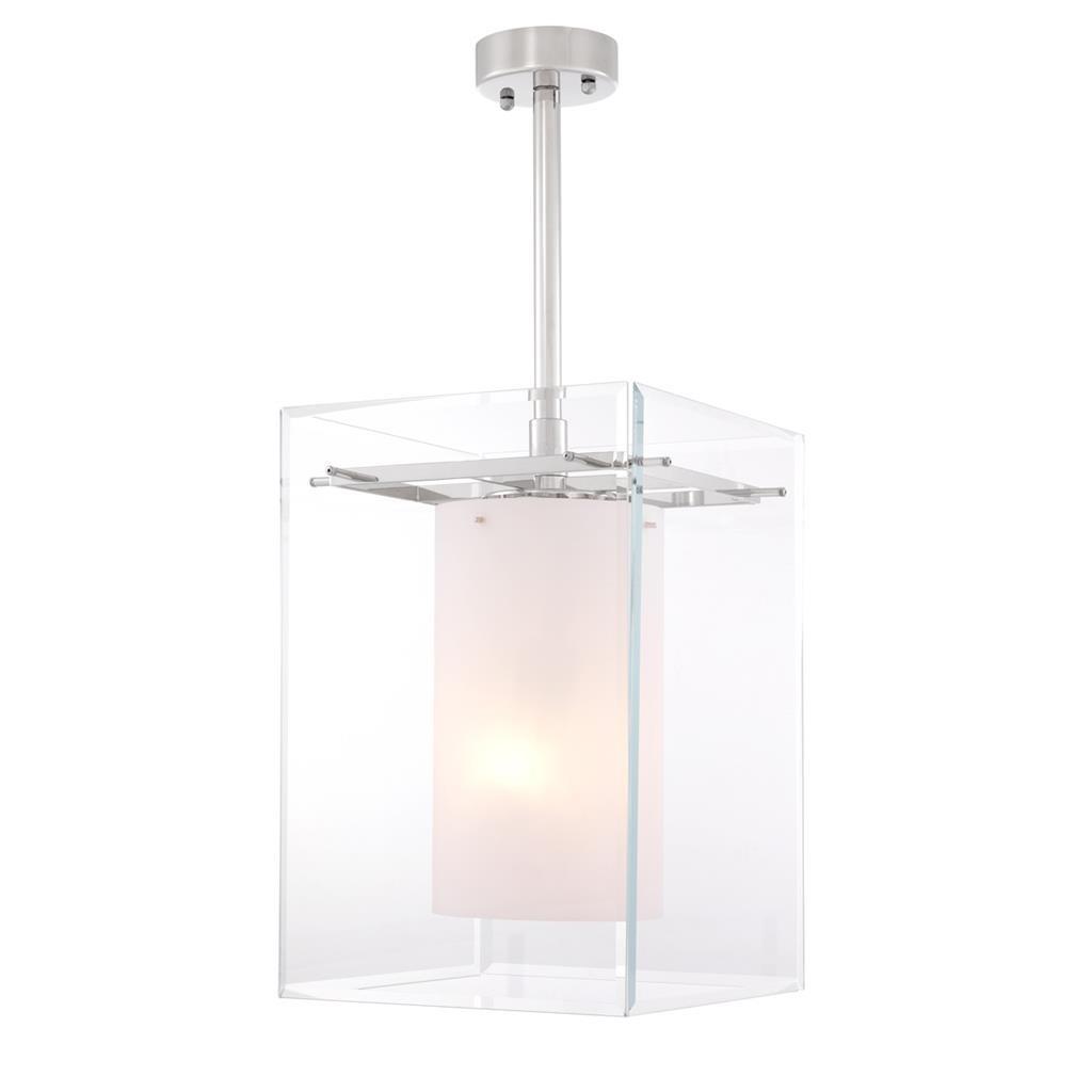 Fu Nickel Hanging Lamp