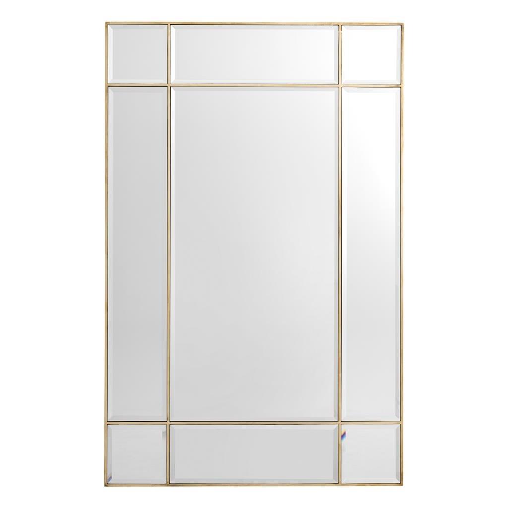 Beaumont Brass Mirror