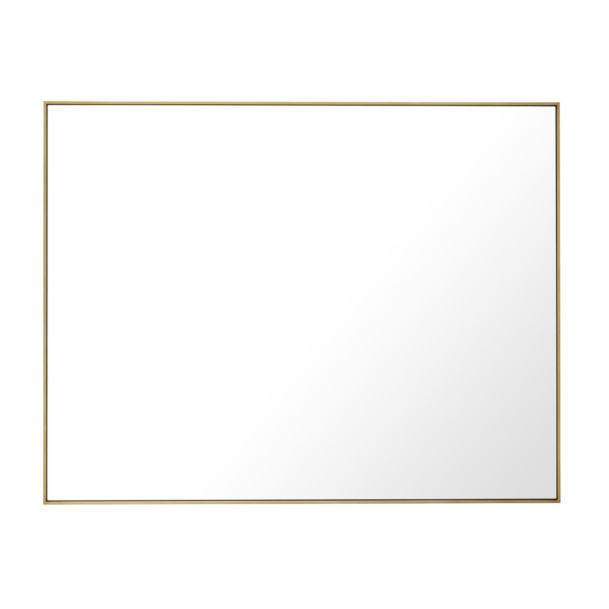 Redondo Large Brass Mirror