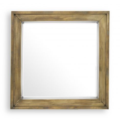 Magenta Square Mirror