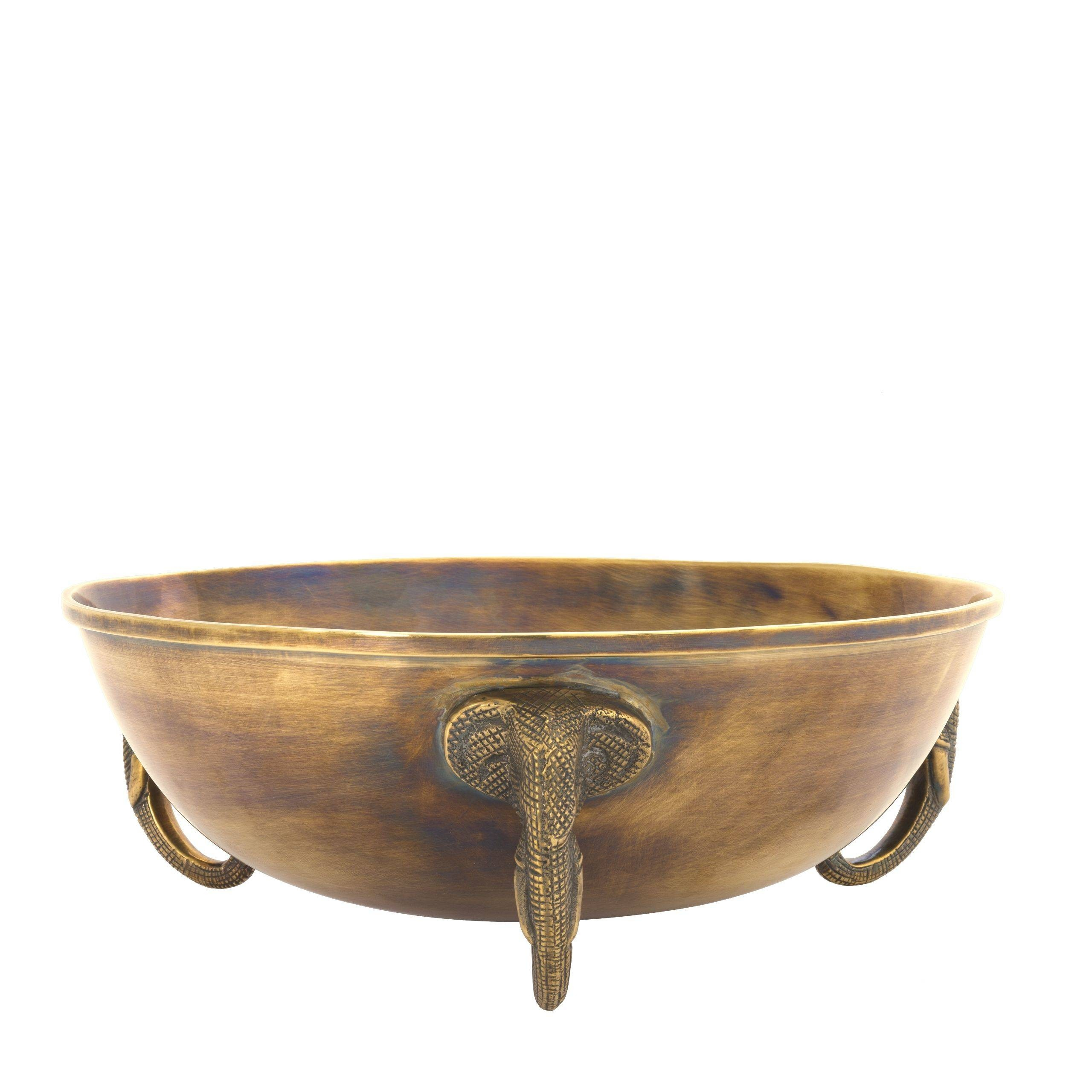 Maharaja Vintage Brass Bowl