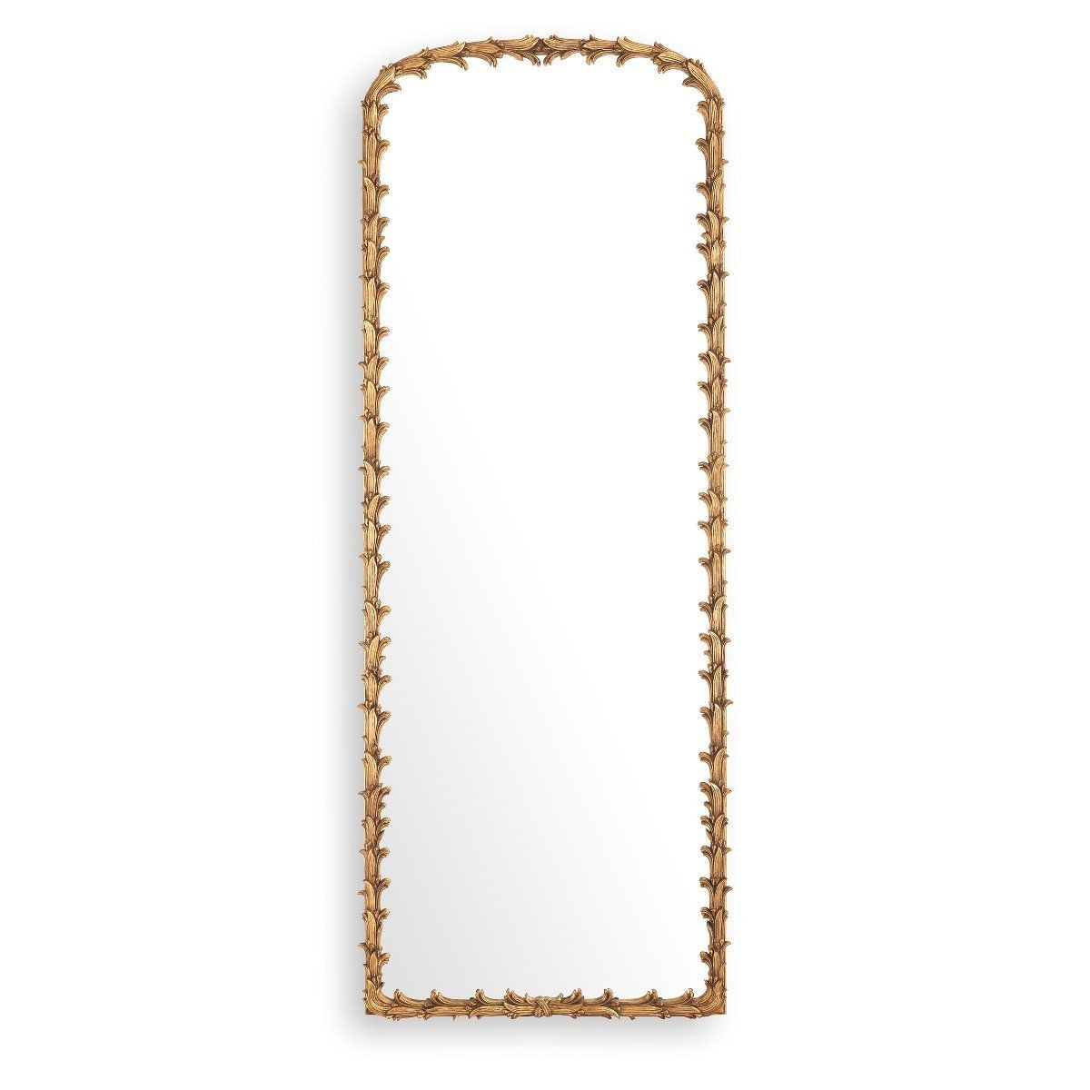 Guinevere Large Antique Gold Mirror