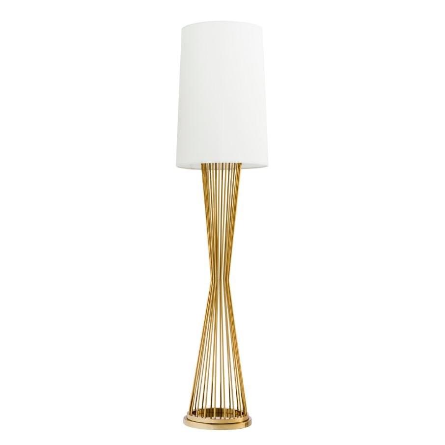 Holmes Gold Floor Lamp
