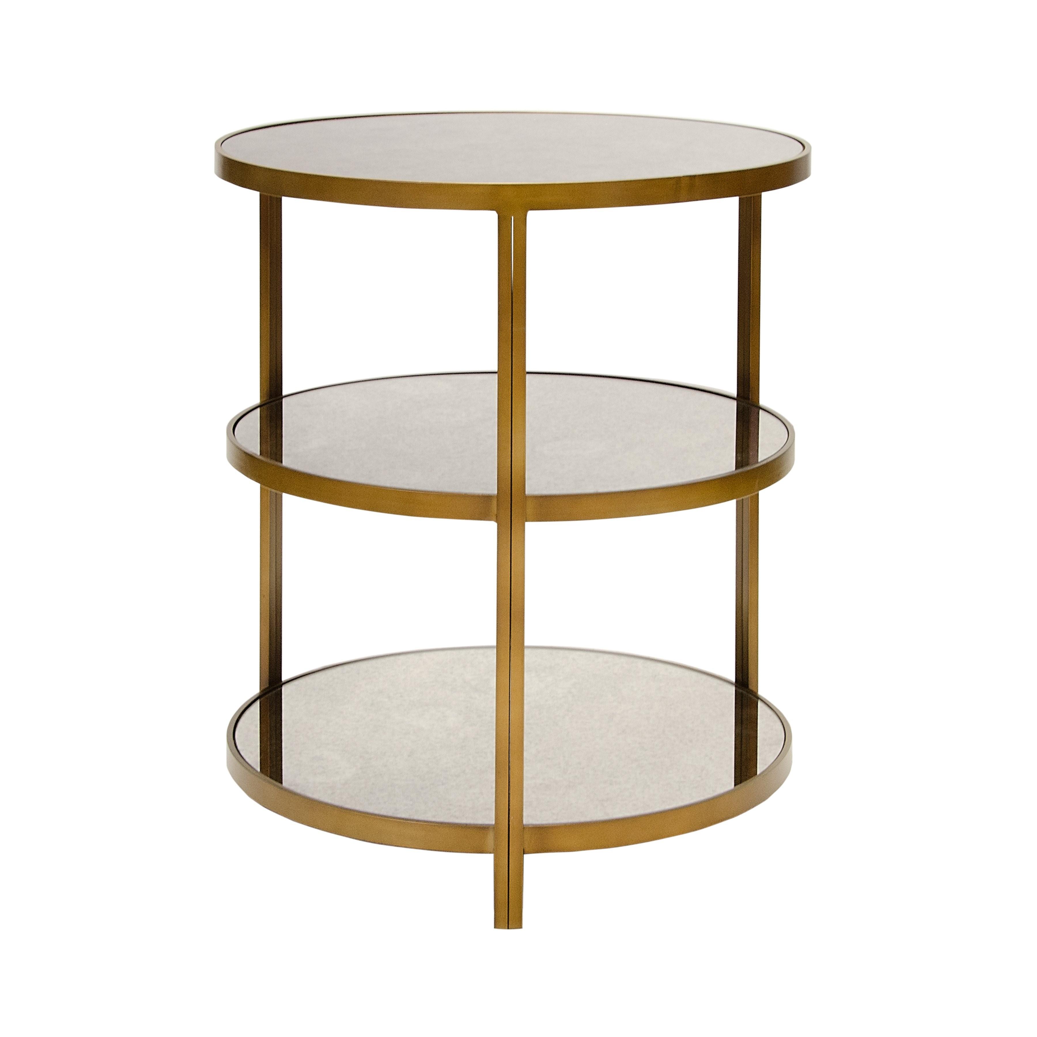 Audrey Bronze Side Table Shop Now
