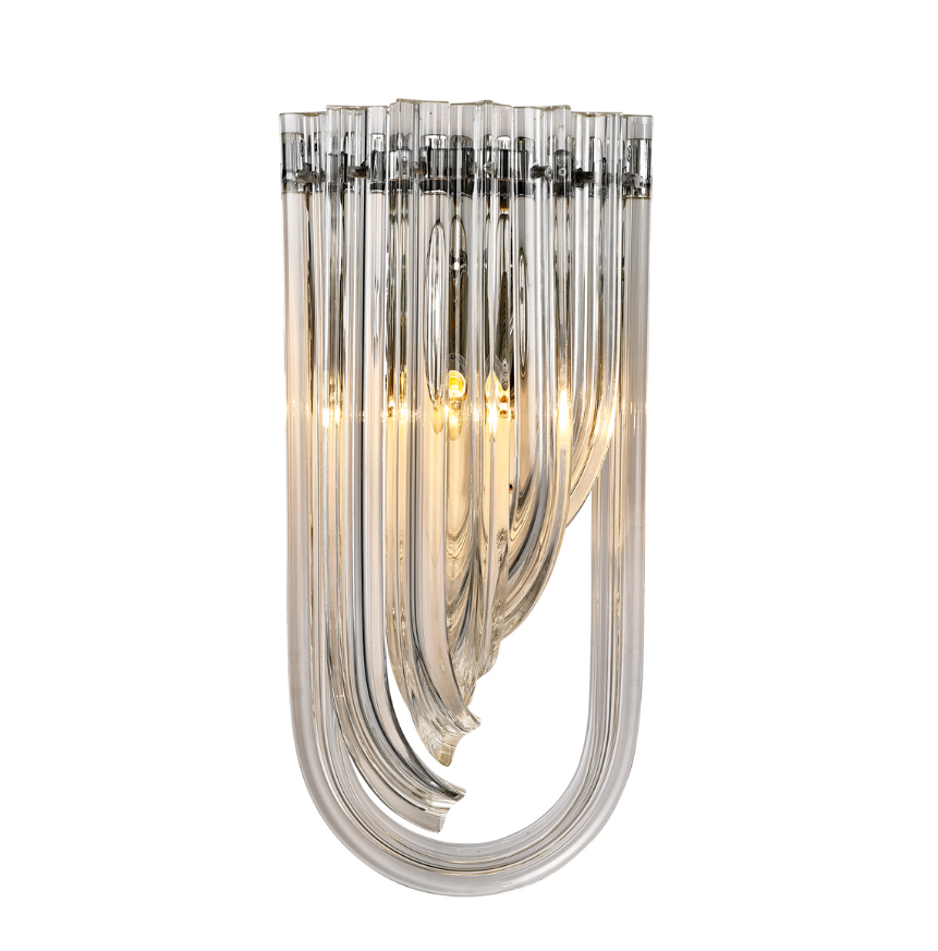 Greco Silver Wall Lamp Shop Now