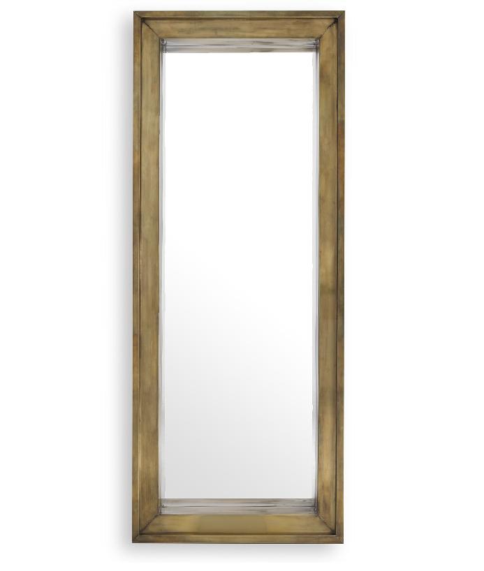 Magenta Rectangular Mirror
