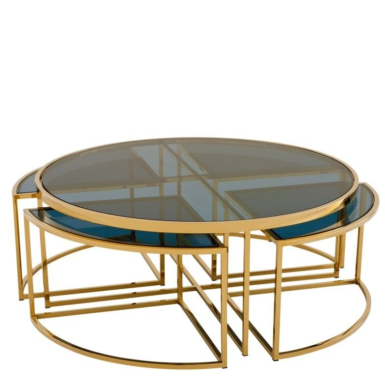 Great PADOVA COFF TABLE GOLD A+b