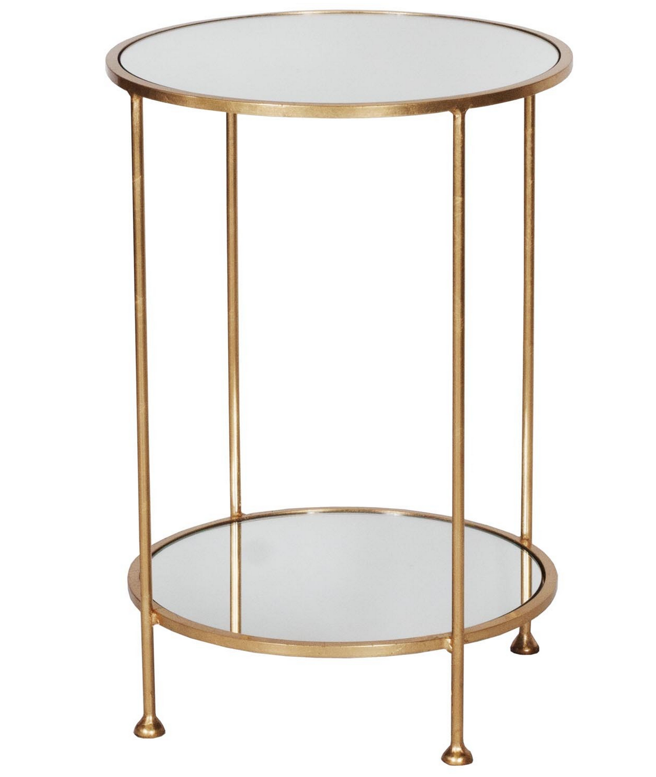 Chico Gold Leaf Side Table