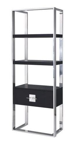 Ophir Wenge Oak & Stainless Steel Cabinet