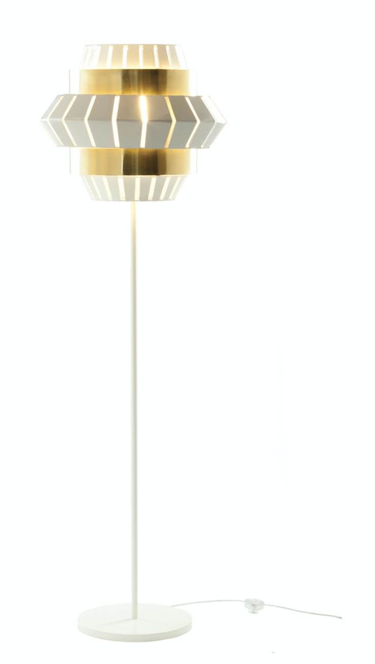 Comb Floor Lamp - Multiple Colours/Finishes