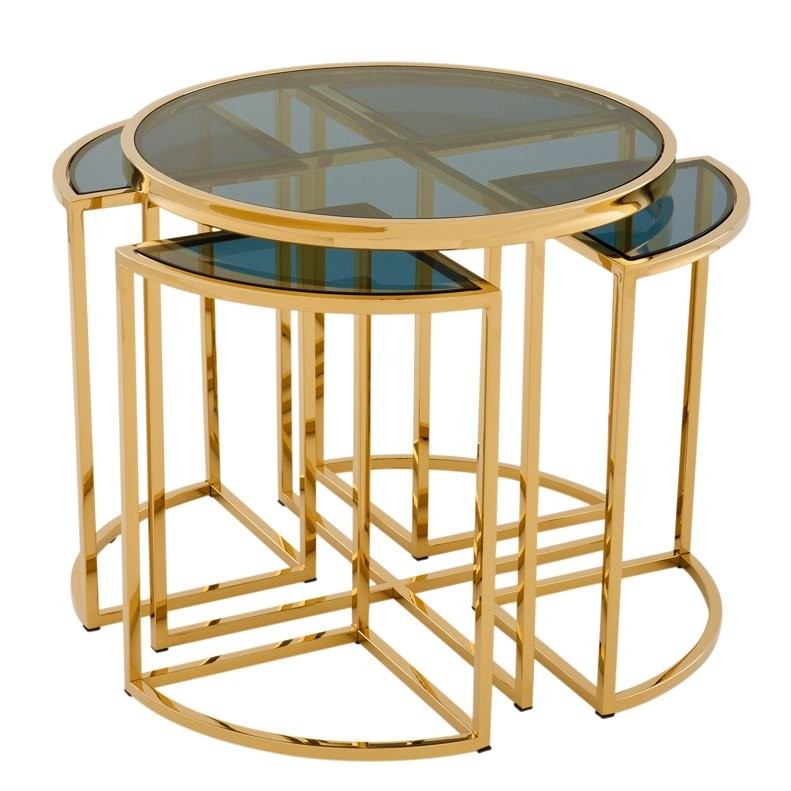 Vicenza Gold Side Table Shop Now