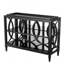Forsythe Black Cabinet