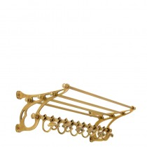 Hudson Brass Coatrack