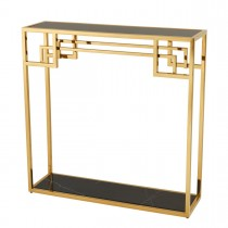 Morris Gold Console Table